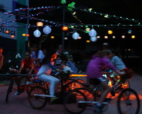 Human Powered Moonlight Cinema