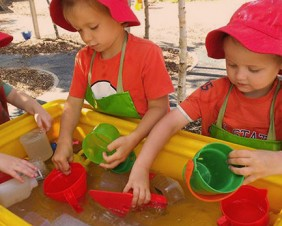 Summer Splash Waterplay at the Kathleen Syme